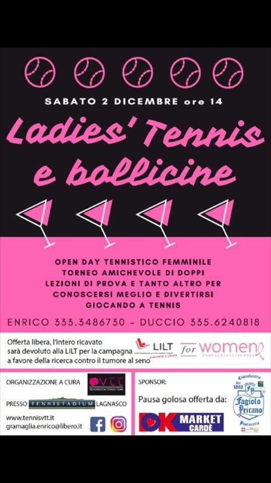 LADIES', TENNIS E BOLLICINE